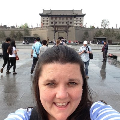 Miss F in China!